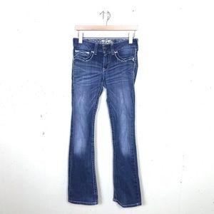 Ariat Bootcut Medium Wash Jeans Mid Rise 28